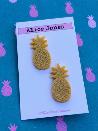 Pineapple Stud Earring